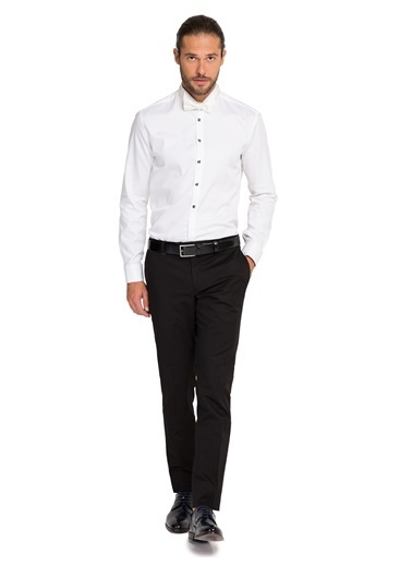 Cacharel Klasik Pantolon Siyah